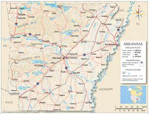 reference map of arkansas usa nations project