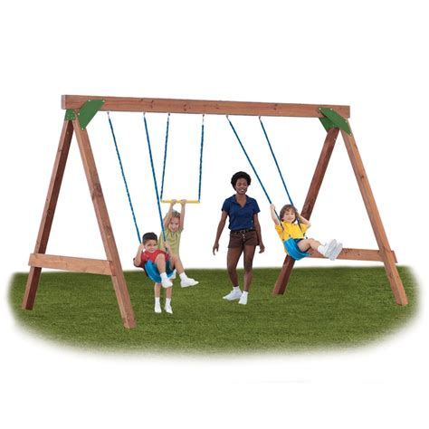 swing set kits lowes simple swing set from lowes crafty ambitious pinterest