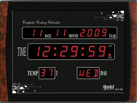Olc Led Wall L Led Digital Wall Clock Circuit Diagram Interior Design