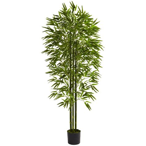 nearly 6 ft uv resistant indoor outdoor bamboo