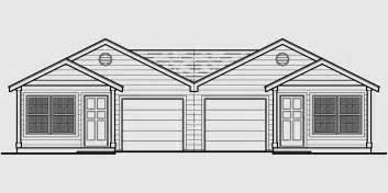 Multiplex Housing Plans Small duplex house plans one level duplex house plans duplex home designs