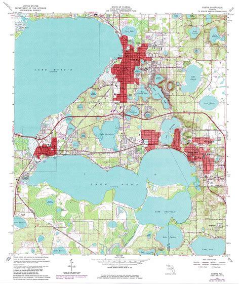 eustis topographic map fl usgs topo quad 28081g6