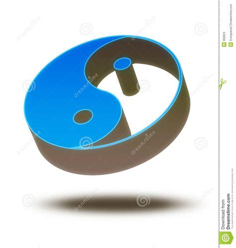 imagenes de yin yang en 3d yin yang 3d fotos de archivo imagen 969953