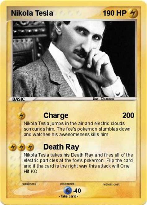 How Nikola Tesla Died Pok 233 Mon Nikola Tesla 4 4 Charge My Card
