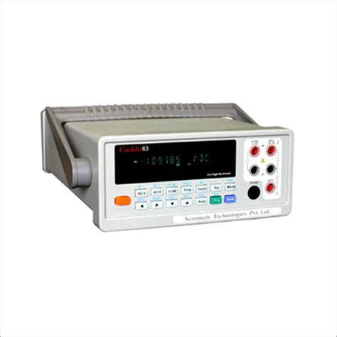 bench top multimeter bench top digital multimeter in patparganj delhi delhi india scientech