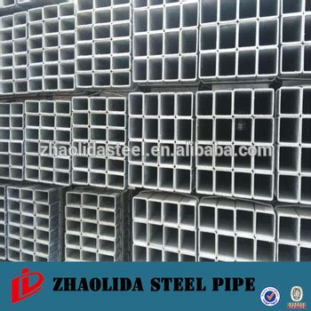 galvanised box section steel hot dip galvanized steel box sections zinc coated square