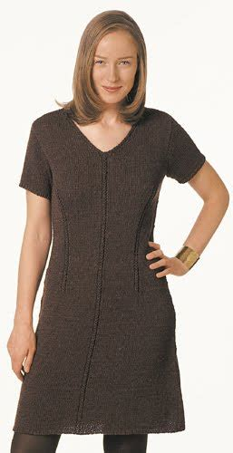 pattern for simple knit dress free dress pattern knitting gallery