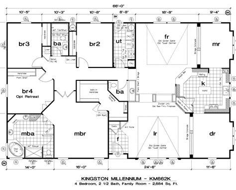 triple wide mobile home floor plans las brisas floorplan mobile homes floor plans triple wide