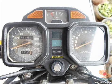 Speedometer Gl Promax Original restorasi honda gl 100 lansiran 1995 orikintil gans xixixixi setia1heri