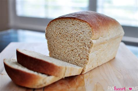 Handmade White Bread - the best whole wheat bread