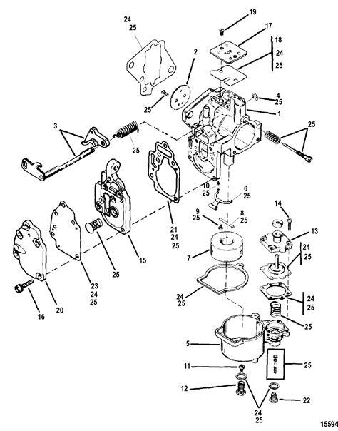 Carburetor Assembly FOR MARINER / MERCURY 8/9.9/13.5/15 2