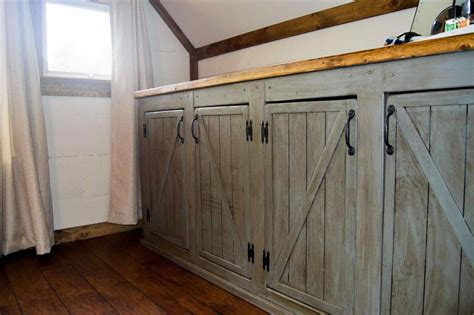 how to make a cabinet door kitchen barn doors 12 sliding barn door ideas homebnc 18