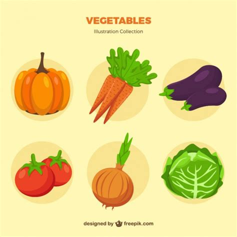 vegetables vector vegetable collection vector free
