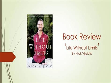 nick vujicic biography ppt book review life without limits authorstream