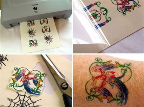 temporary tattoo photo paper wounderful color temporary tattoo paper inofashionstyle com