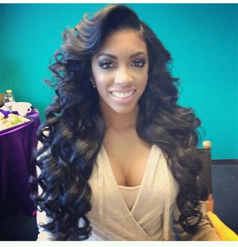 how does porsha william take care of hair porsha williams flowing wavy hair long hair don t care