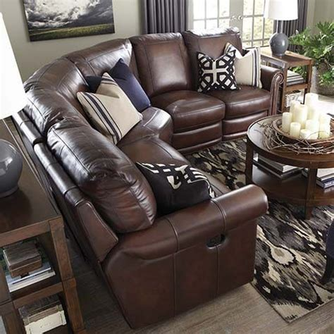 sofa with recliners on each end maroc room man room and leather furniture