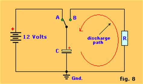 capacitor in timer circuit the 555 timer