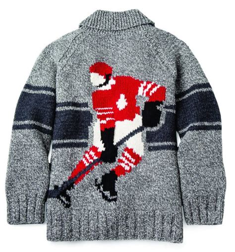 Knit Hockey Sweater Pattern | roots mary maxim collaborate on iconic curling sweaters