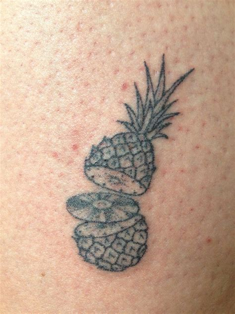 stick on tattoos magpiefeed poked ananas on olle berlin by magpie