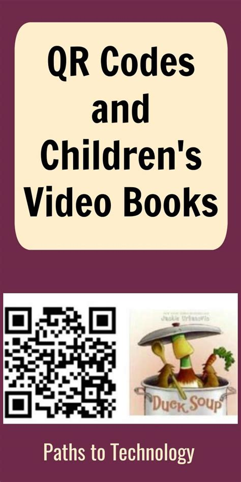 qr codes  childrens video books perkins elearning