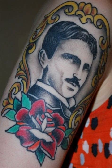 thomas edison tattoo tesla tesla