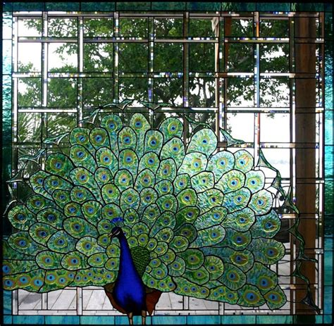 peacock stained glass l 1000 images about stained glass patterns on pinterest