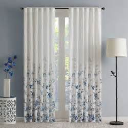 rod pocket sheer curtains buy curtain panels sheer from bed bath beyond