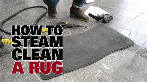 how to clean a rug without a steam cleaner car detailing how to steam clean a car rug dupray