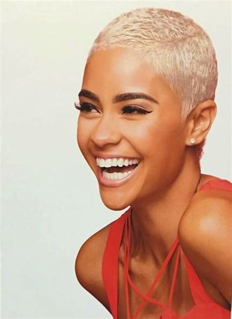 black lady with short natural platinum hair 25 best ideas about short twa hairstyles on pinterest