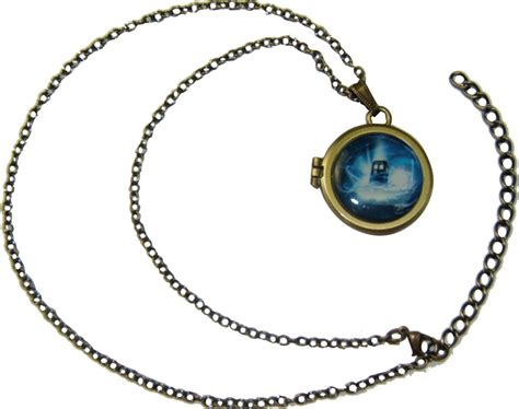 doctor who locket necklace