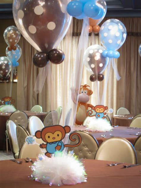 monkey baby shower centerpieces images tagged quot monkey quot balloon artistry