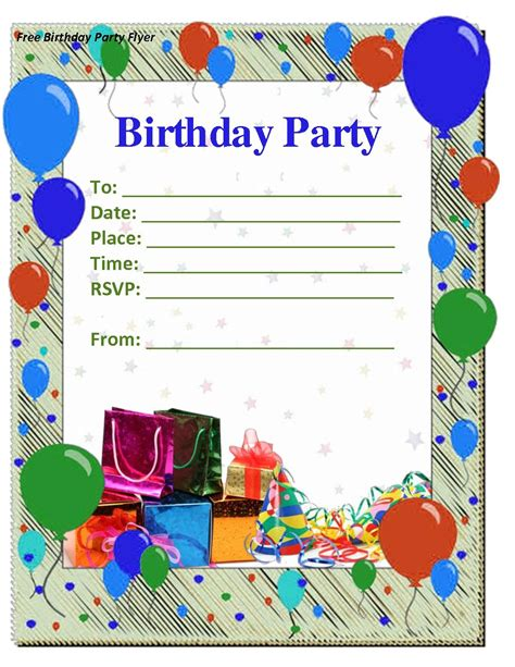 Templates For 8 Year Birthday Card by Birthday Invitations Templates Word Best Ideas