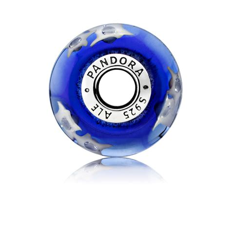 Starry Night Murano Glass Charm   PANDORA eSTORE