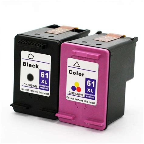 Toner Warna black ink cartridge hp 61 black ink cartridge