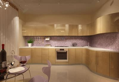 Kitchen Paint Lilac Purple Kitchen Cabinets Modern Kitchen Color Schemes