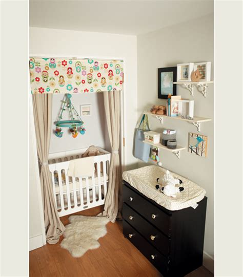 Cribs For In Small Spaces by Jambalaya Small Space Living Nursery Inspiration