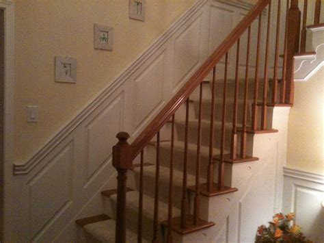 Ideas For Wainscoting - staircase amp foyer wainscoting ideas from wainscoting america customers