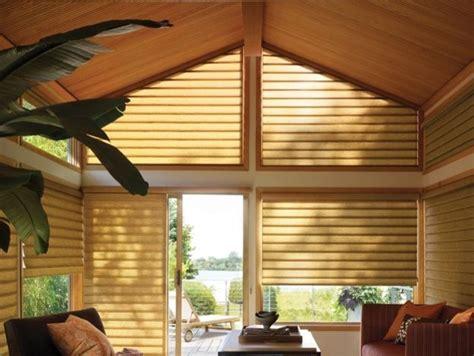 angled window treatments angled window treatments by douglas
