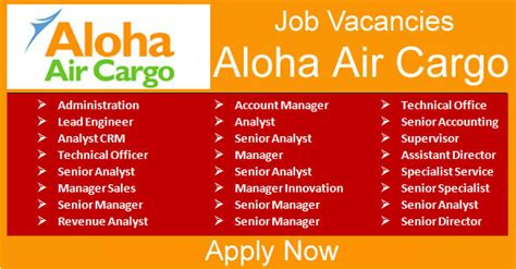 aloha air cargo american cargo airline opportunities