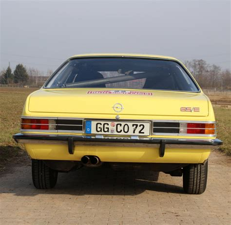 opel commodore b opel commodore b gs e walter r 246 hrl im test welt