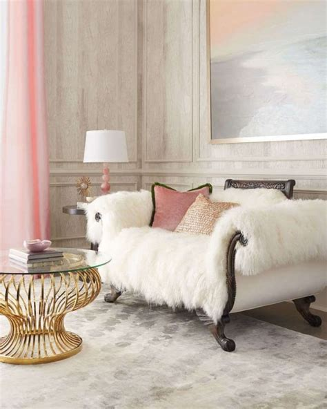 fur sofa fabulous faux fur style ideas to warm up your winter