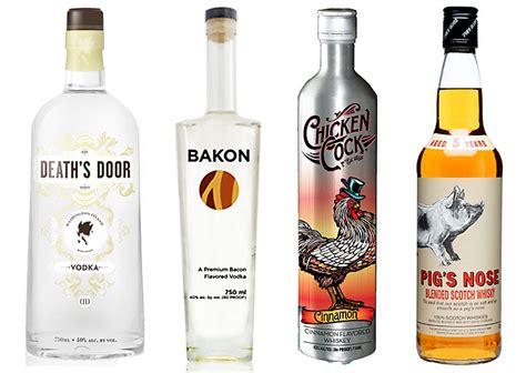 weirdest alcohol names  tastes youll love