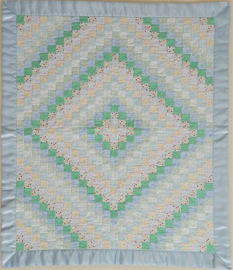 Trip Around The World Baby Quilt Pattern by Buzzinbumble Trip Around The World A Scrappy