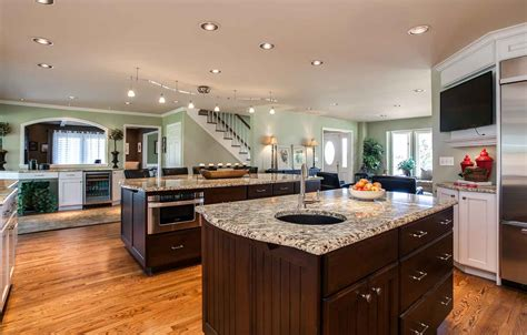 denver home renovation turns small rooms  inviting kitchen