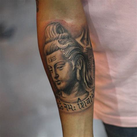 god face tattoo collection of 25 hindu god shiva on