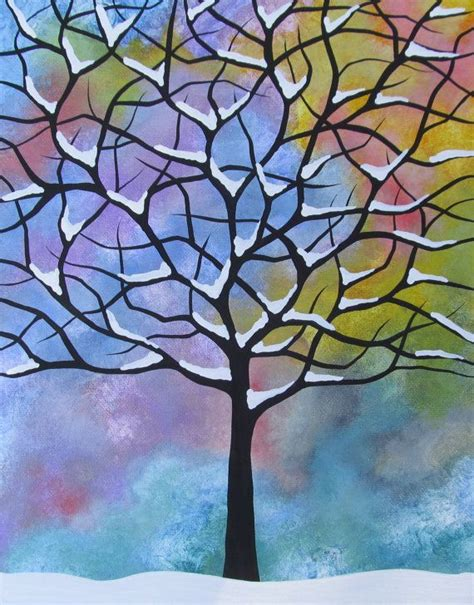 easy acrylic painting ideas trees 17 best images about painting canvas ideas on