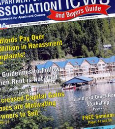 Apartment Owners Association Of Nevada Apartment Owners Association Of California Inc