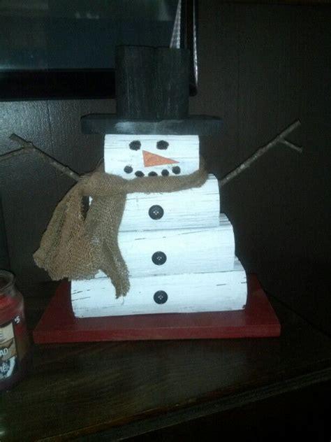 landscape timber snowman snowman crafts crafts