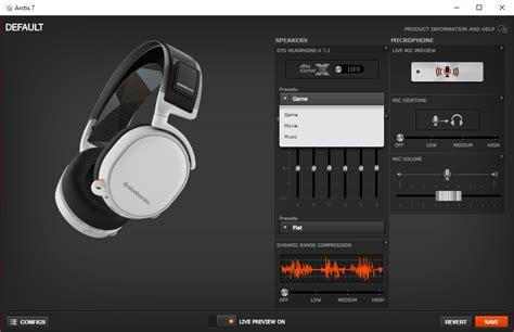 steelseries arctis  wireless  surround sound headset review techgage